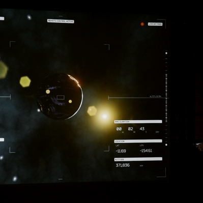 Space flight mode projected